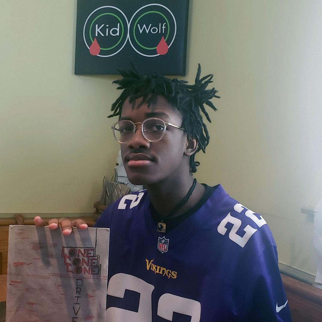 Mason Brooks, 12th-grade student in Pittsburgh Public Schools